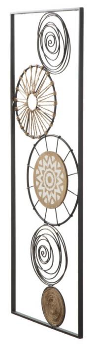 Decoratiune pentru perete MASAI, 35X2X90 cm, Mauro Ferretti 2