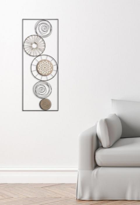 Decoratiune pentru perete MASAI, 35X2X90 cm, Mauro Ferretti 6