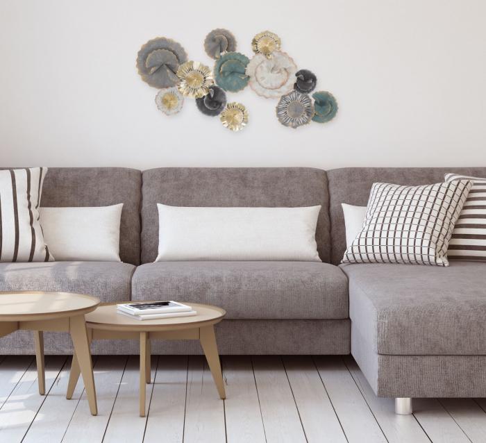 Decoratiune pentru perete OBLY, 110X10X56 cm, Mauro Ferretti 8