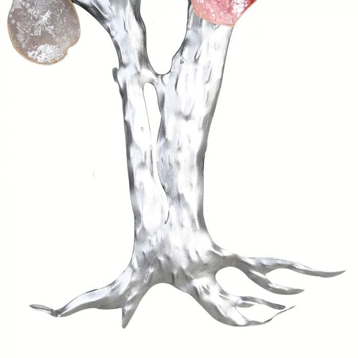 Decoratiune de perete LOVE TREE, metal,  80x10x72 cm 1