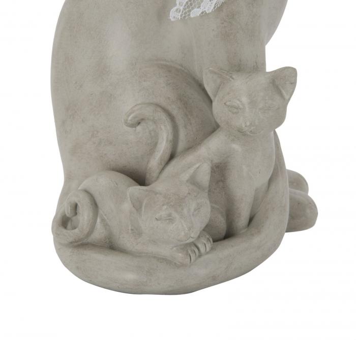 Decoratiune pisica CAT FAMILY(cm) 12,5X11,5X20,5 3