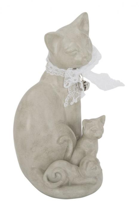 Decoratiune pisica CAT FAMILY(cm) 12,5X11,5X20,5 2