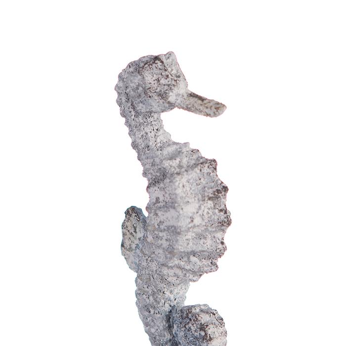Decoratiune SEAHORSE, metal, 22.5X10X5.5 cm 2