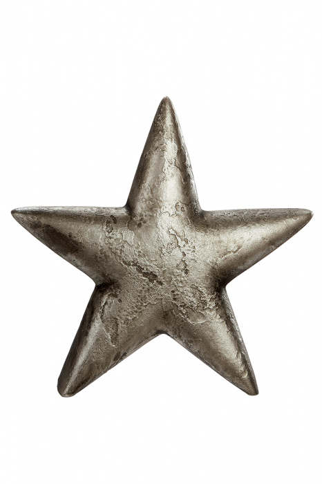 Decoratiune STAR, ceramica, 31x6.5x30 cm imagine 2021 lotusland.ro