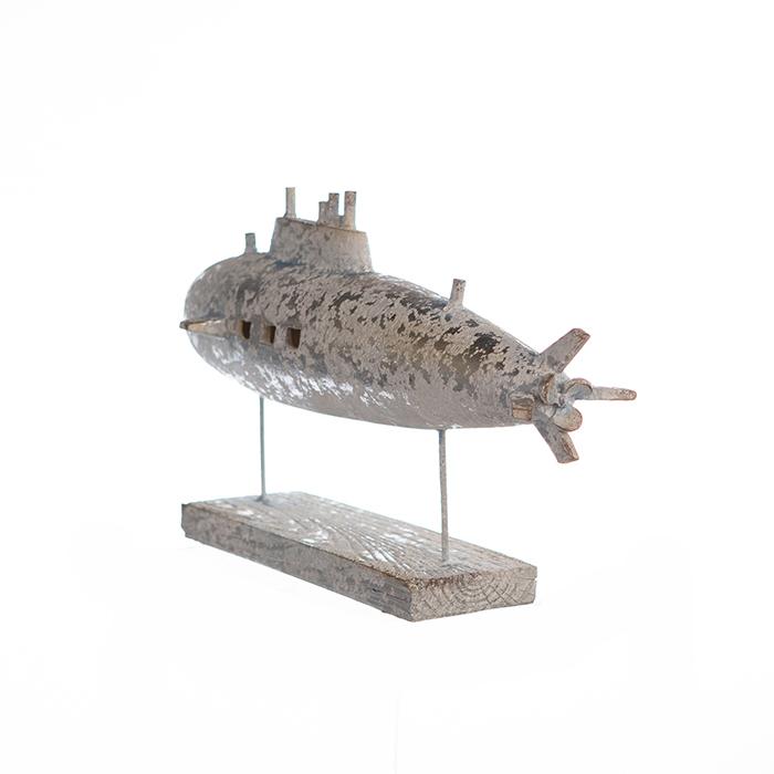 Decoratiune SUBMARINE, metal, 34.5X20X13.5 cm 1