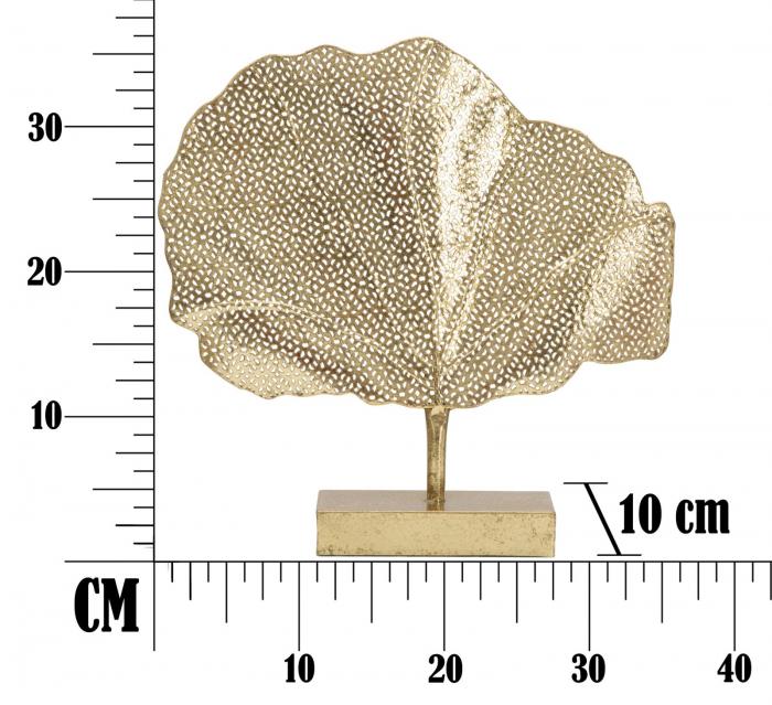 Decoratiune TREE GLAM (cm) 36X8X36 4
