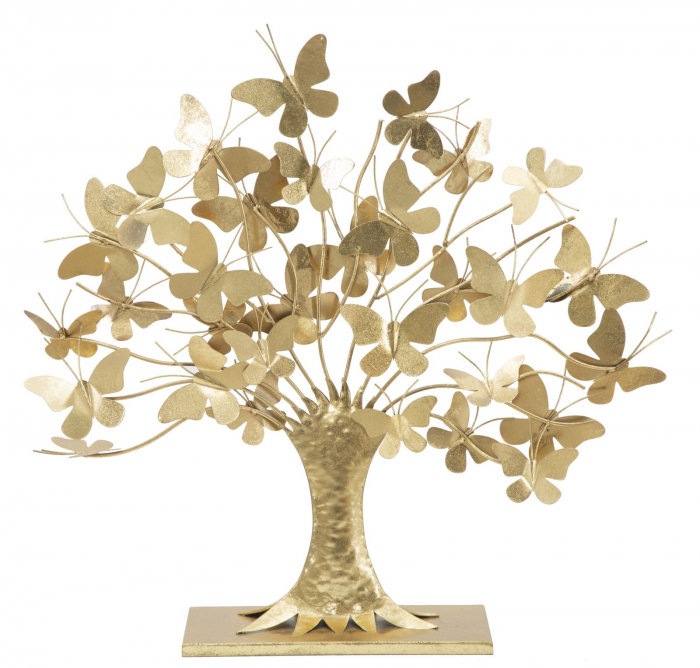 Decoratiune TREE OF LIFE W/BUTTERFLY GLAM 63X13,5X60 0