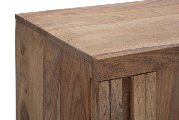 Dulap 2 usi si 3 sertare ELEGANT, lemn masiv sheesham, 175X45X80 cm, Mauro Ferretti 3
