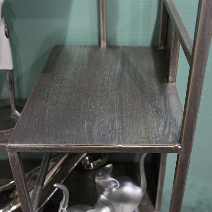 Dulap cu rafturi LEVEL, metal, 200x50x35 cm 4