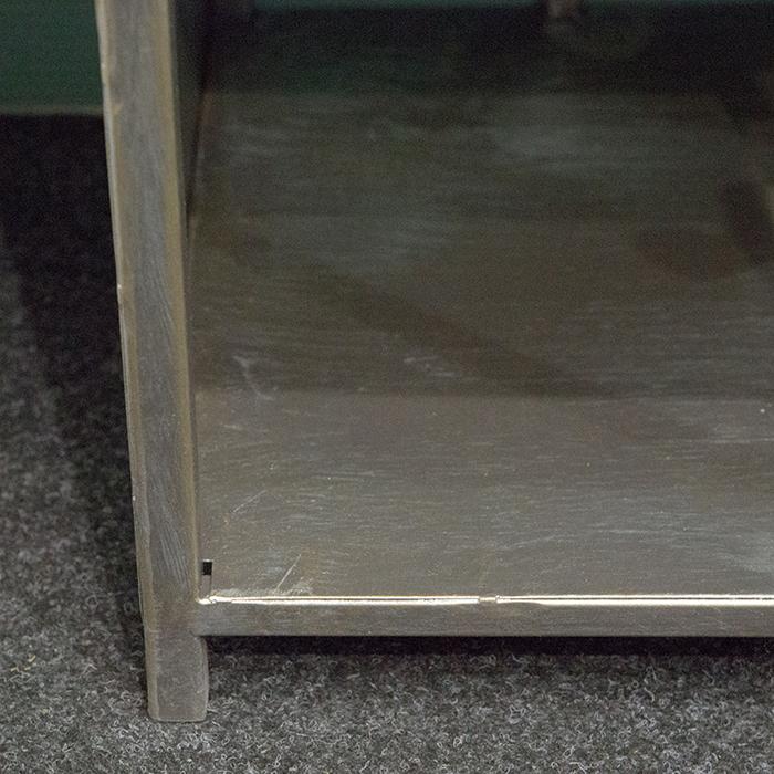 Dulap cu rafturi LEVEL, metal, 200x50x35 cm 2