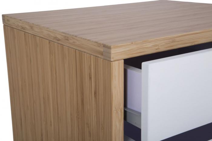 Dulap cu sertare TOKYO,bambus, 48X40X73 cm, Mauro Ferretti 5