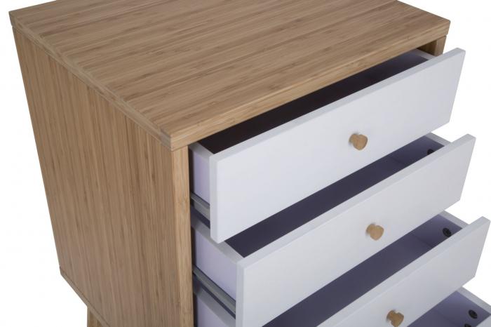 Dulap cu sertare TOKYO,bambus, 48X40X73 cm, Mauro Ferretti 2