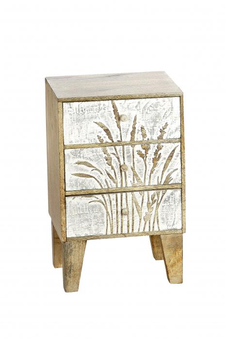 Dulapior/noptiera GRASER, lemn, 30x24x48 cm 0