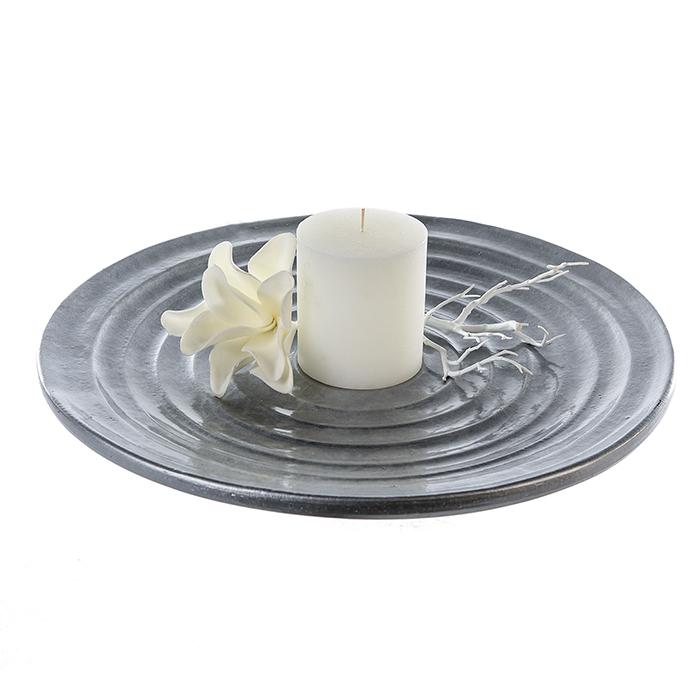 Farfurie HOUSTON, ceramica, 49x4 cm 0