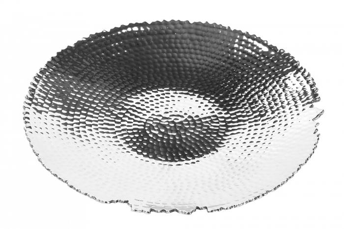 Farfurie MEIGO, placata cu nichel, 3.5x30 cm imagine 2021 lotusland.ro