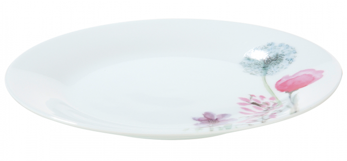 Farfurie Sweet Blossom, portelan, multicolor, 2x19.2 cm lotusland.ro