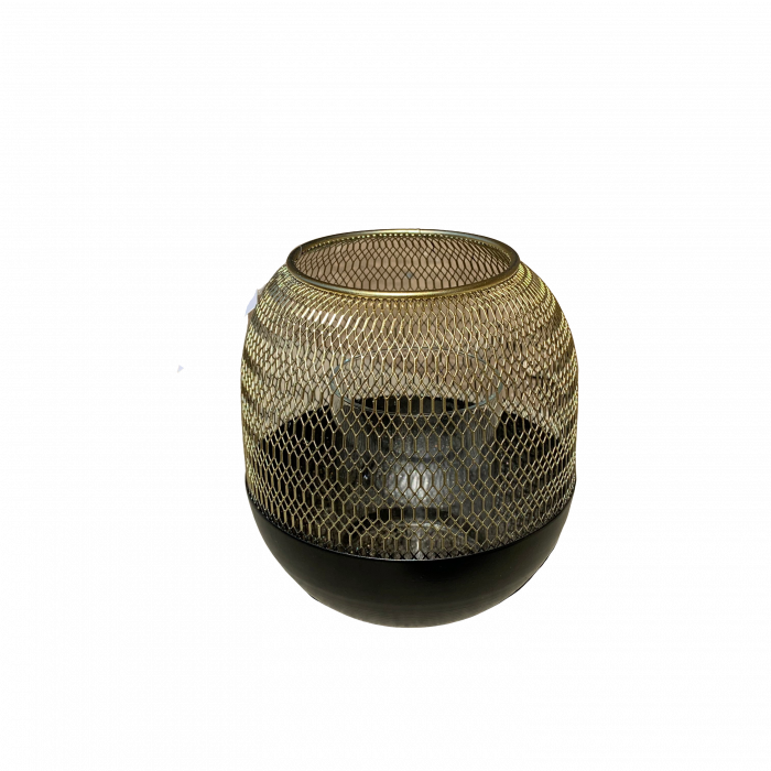 Felinar ORLANDO, metal/sticla, 15x13 cm 0