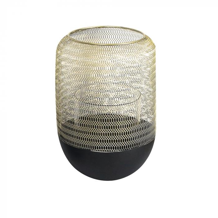 Felinar ORLANDO, metal/sticla, 26x18 cm 0