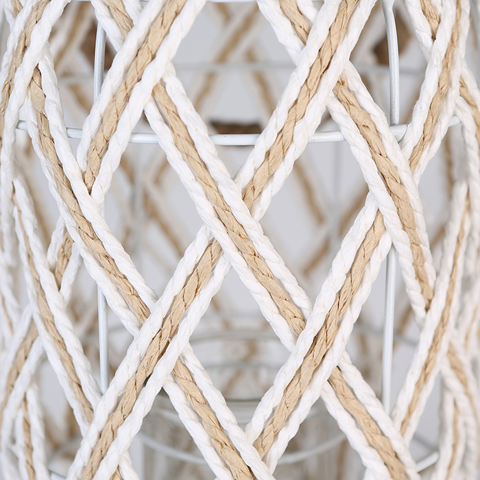 Felinar SWING, metal/sticla/fibre, 35x20 cm 2