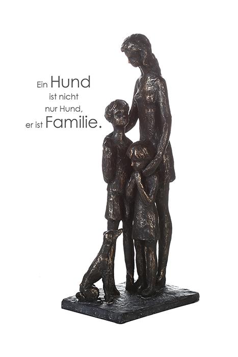 Figurina animal loving rasina, bronz, 31x14x9 cm lotusland.ro