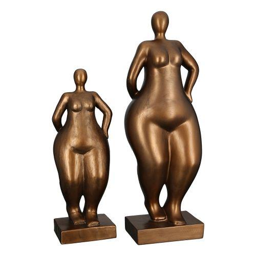 Figurina Ballerina, rasina, bronz, 12x15x41 cm imagine 2021 lotusland.ro