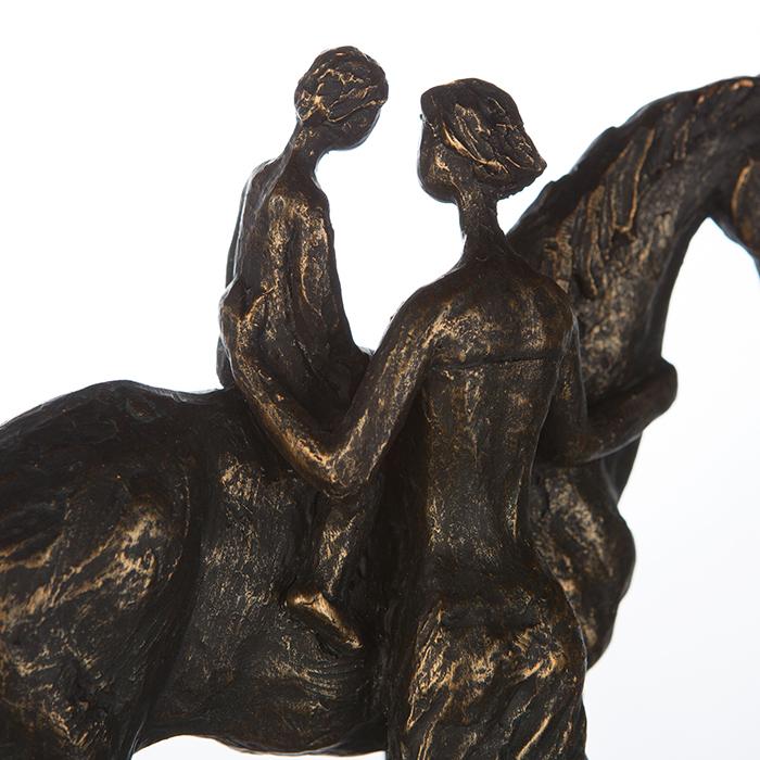 Figurina CONFIDENCE, rasina, 25X24X9 cm 3