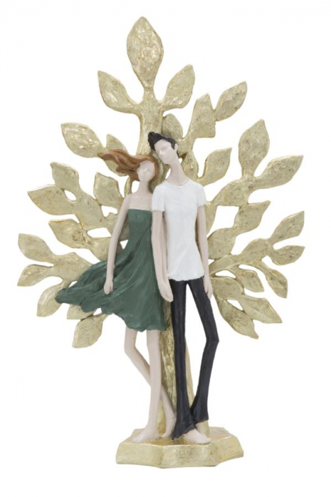 Figurina COUPLE LIFE TREE (cm) 35X13X52 lotusland.ro