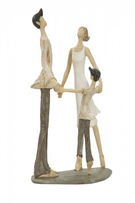 Figurina COUPLE MORE CIRCLE (cm)  18X13X31 2