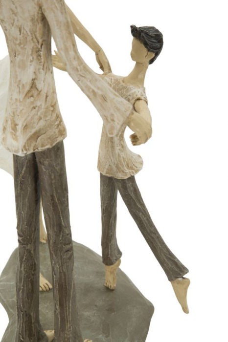 Figurina COUPLE MORE CIRCLE (cm)  18X13X31 3