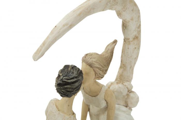 Figurina COUPLE MORE ON THE MOON (cm) 20X10X33,5 5