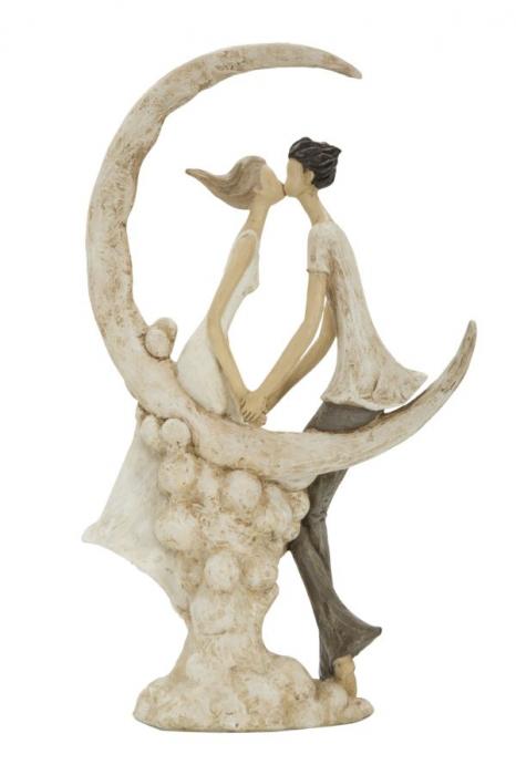 Figurina COUPLE MORE ON THE MOON (cm) 20X10X33,5 6