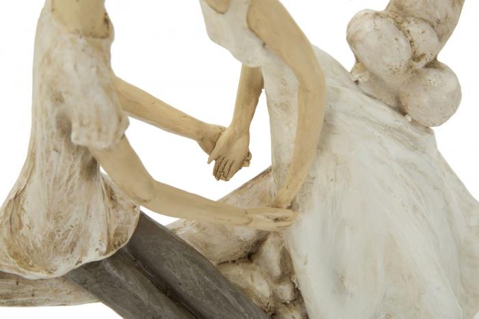 Figurina COUPLE MORE ON THE MOON (cm) 20X10X33,5 4
