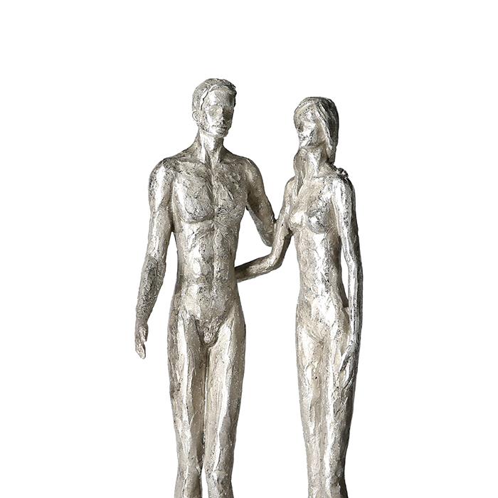 Figurina COUPLE, rasina, 41x14x12 cm 1