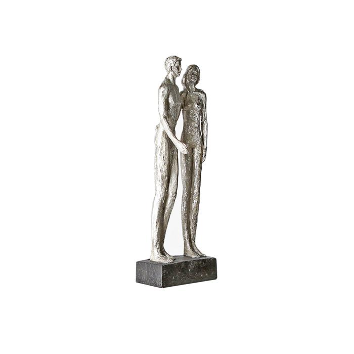 Figurina COUPLE, rasina, 41x14x12 cm 4