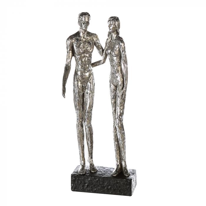 Figurina COUPLE, rasina, 41x14x12 cm 0