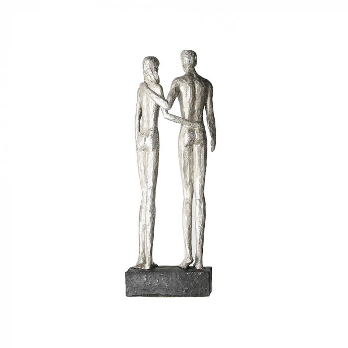 Figurina COUPLE, rasina, 41x14x12 cm 3