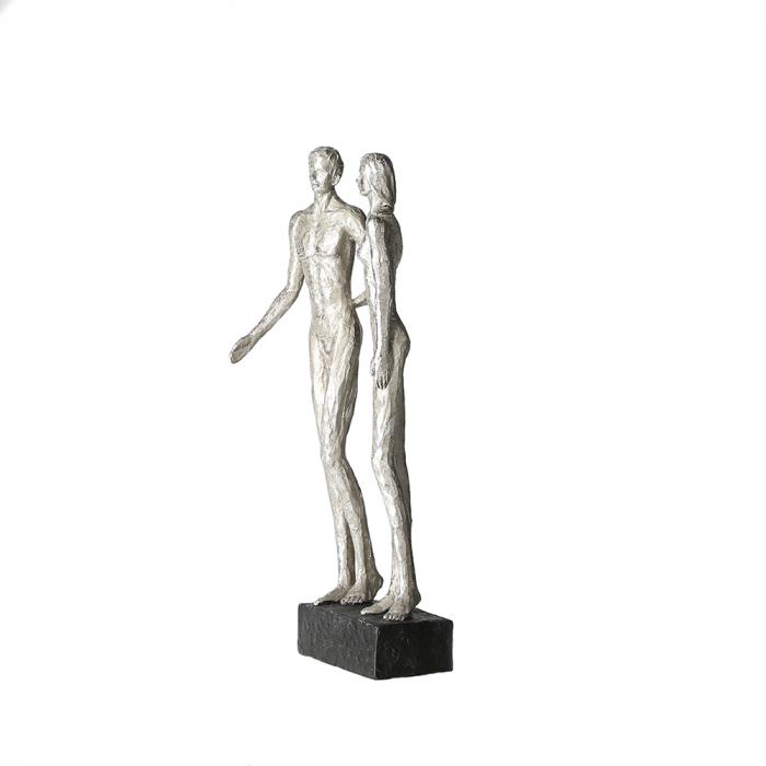 Figurina COUPLE, rasina, 41x14x12 cm 2