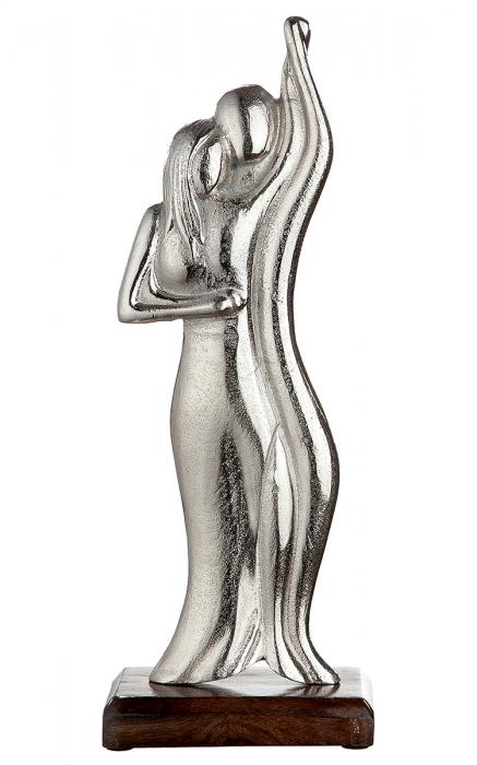 Figurina DANCE CIRCLE, aluminiu, 15 x 40 cm lotusland.ro