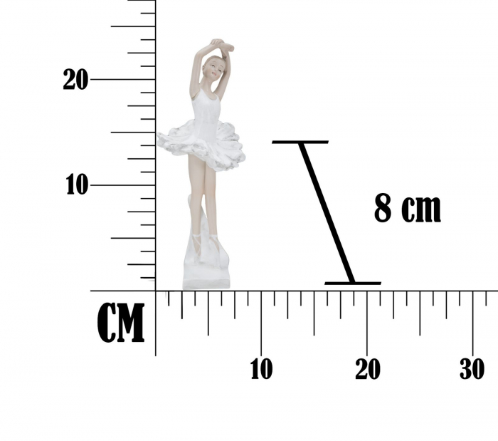 Figurina DANCER DICY -B- (cm)  8X8X23 6