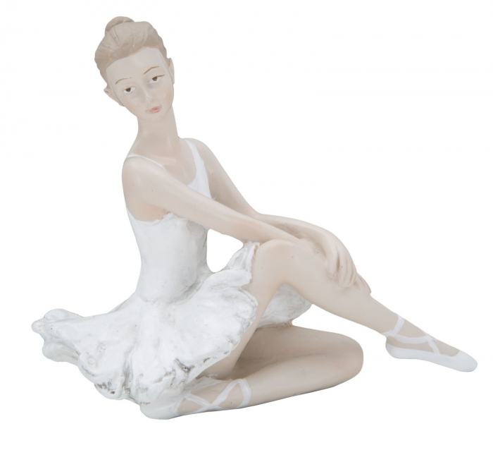 Figurina DANCER DICY SITTING (cm) 14X8X8 imagine 2021 lotusland.ro