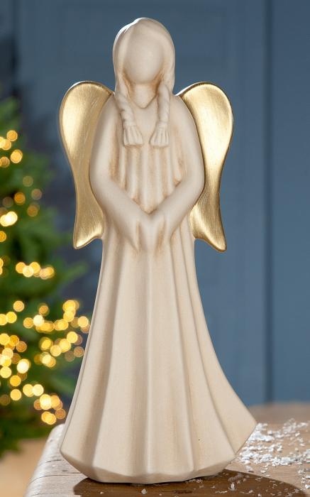 Figurina DONNA, ceramica, 14x9x31 cm imagine 2021 lotusland.ro