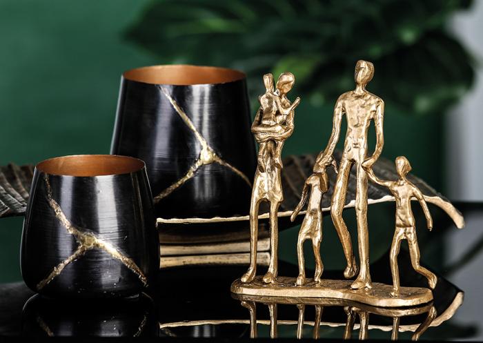 Figurina FAMILY, metal, 19X16X4 cm 1