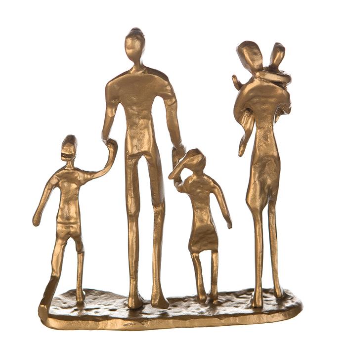 Figurina FAMILY, metal, 19X16X4 cm 4