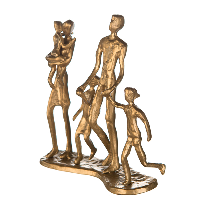 Figurina FAMILY, metal, 19X16X4 cm 3