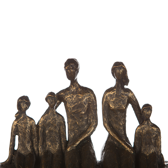 Figurina FAMILY, rasina, 26X26X9 cm 1