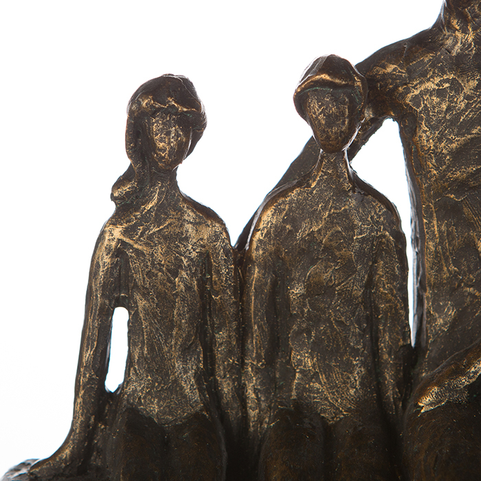 Figurina FAMILY, rasina, 26X26X9 cm 4