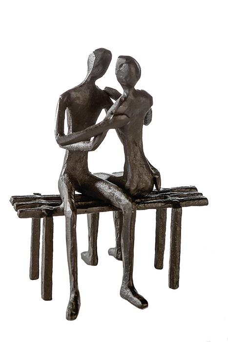 Figurina FAVOURITE PLACE, metal, 13x11X10 cm 0