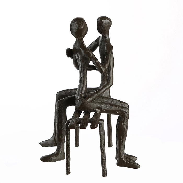 Figurina FAVOURITE PLACE, metal, 13x11X10 cm 5