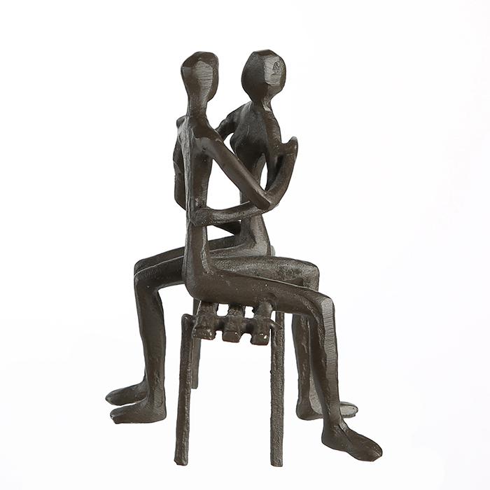Figurina FAVOURITE PLACE, metal, 13x11X10 cm 4