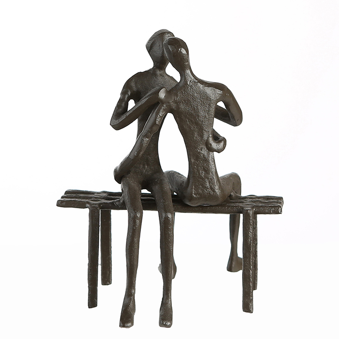 Figurina FAVOURITE PLACE, metal, 13x11X10 cm 3